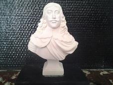 Louis XIII buste en plâtre de moulage statuette deco