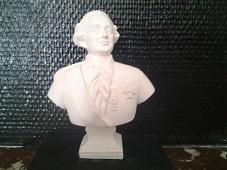 Louis XVI buste en plâtre de moulage statuette deco