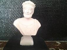 François Ier buste en plâtre de moulage statuette deco